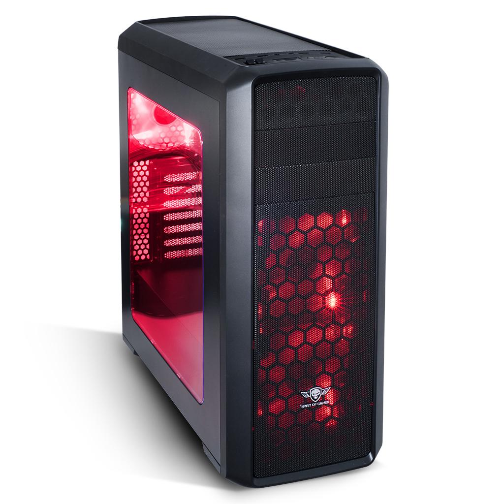 spirit of gamer revolution two rouge pas cher. Black Bedroom Furniture Sets. Home Design Ideas