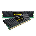 Corsair Vengeance Low Profile 8 Go (2x 4 Go) DDR3 1600 MHz CL9 pas cher