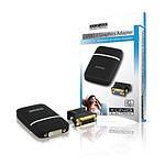 Adaptateur DVI/VGA sur port USB pas cher