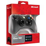 Microsoft Controller Filaire Noir (Xbox 360/PC) pas cher