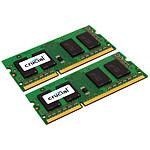 Crucial SO-DIMM 8 Go (2 x 4 Go) DDR3L 1600 MHz CL11 pas cher