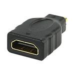 Adaptateur HDMI femelle vers micro-HDMI mâle (plaqué or) pas cher