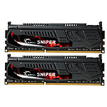 G.Skill Sniper 8 Go (2 x 4Go) DDR3 2133 MHz CL9 DIMM 240 pins pas cher