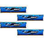 G.Skill Ares Blue Series 32 Go (4 x 8 Go) DDR3 2400 MHz CL11 pas cher