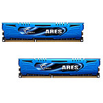 G.Skill Ares Blue Series 8 Go (2 x 4 Go) DDR3 1866 MHz CL9 pas cher