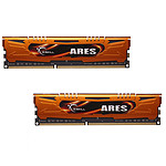 G.Skill Ares Orange Series 8 Go (2 x 4 Go) DDR3 1600 MHz CL9 pas cher