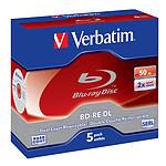 Verbatim BD-RE DL 50 Go 2x (par 5, boite) pas cher