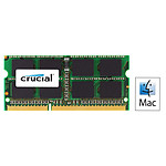 Crucial for Mac SO-DIMM 4 Go DDR3 1600 MHz CL11 pas cher