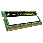 Corsair Value Select SO-DIMM 4 Go DDR3 1600 MHz CL11 pas cher