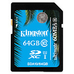 Kingston SDXC 64 Go - UHS-I Ultimate Classe 10 pas cher