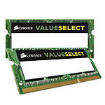 Corsair Value Select SO-DIMM 16 Go (2 x 8 Go) DDR3L 1600 MHz CL11 pas cher