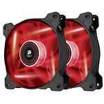 Corsair Twin Pack Air Series AF120 Red Quiet Edition High Airflow pas cher