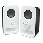 Logitech Multimedia Speakers Z150 Blanc pas cher
