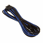 BitFenix Alchemy Blue/Black - Extension d'alimentation gainée - EPS12V 8 pins - 45 cm pas cher