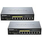 D-Link DGS-1008P x2 pas cher