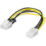 Adaptateur PCI-E 6 Pins vers PCI-E 8 Pins pas cher