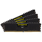 Corsair Vengeance LPX Series Low Profile 16 Go (4x 4 Go) DDR4 2400 MHz CL14 pas cher