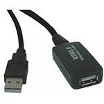 Rallonge USB 2.0 active (mâle/femelle) avec amplificateur et répéteur (10 mètres) pas cher