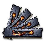 G.Skill RipJaws 4 Series Noir 16 Go (4x 4 Go) DDR4 2133 MHz CL15 pas cher