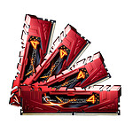 G.Skill RipJaws 4 Series Rouge 32 Go (4x 8 Go) DDR4 2133 MHz CL15 pas cher