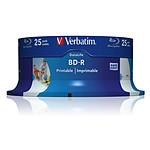 Verbatim BD-R SL 25 Go vitesse 6x imprimable (par 25, spindle) pas cher