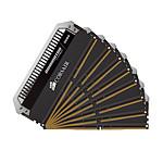 Corsair Dominator Platinum 64 Go (8x 8 Go) DDR4 2400 MHz CL14 pas cher