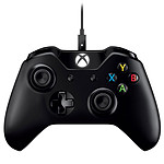 Microsoft Xbox One Wireless Controller + Cable for Windows pas cher