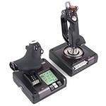 Logitech G Saitek X52 Pro Flight Control System pas cher