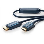 Clicktronic câble DisplayPort / HDMI (2 mètres) pas cher