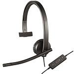 Logitech USB Headset Mono H570e pas cher