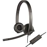 Logitech USB Headset Stereo H570e pas cher