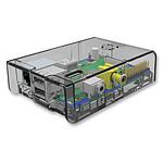 Multicomp boitier pour Raspberry Pi Model A / Model B (transparent) pas cher