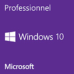Microsoft Windows 10 Professionnel 32 bits OEM Get Genuine Kit pas cher
