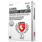 G Data Internet Security Jubilé Anniversaire 30 ans - Licence 1 an 3 postes pas cher