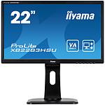 "iiyama 21.5"" LED - ProLite XB2283HSU-B1DP pas cher"