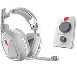 Astro A40 TR + MixAmp Pro TR (blanc) pas cher