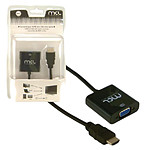 Adaptateur HDMI Mâle / VGA + Jack 3.5 mm femelles pas cher