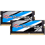 G.Skill RipJaws Series SO-DIMM 32 Go (2 x 16 Go) DDR4 3200 MHz CL18 pas cher