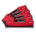 G.Skill RipJaws 5 Series Rouge 32 Go (4x8 Go) DDR4 2666 MHz CL19 pas cher