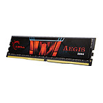 G.Skill Aegis 4 Go (1 x 4 Go) DDR4 2400 MHz CL17 pas cher