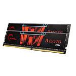 G.Skill Aegis 16 Go (2 x 8 Go) DDR4 2400 MHz CL15 pas cher