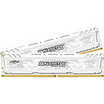 Ballistix Sport LT White 16 Go (2 x 8 Go) DDR4 2400 MHz CL16 DR pas cher