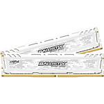 Ballistix Sport LT White 32 Go (2 x 16 Go) DDR4 2400 MHz CL17 pas cher