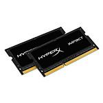 HyperX Impact SO-DIMM 8 Go (2 x 4 Go) DDR3L 1866 MHz CL11 pas cher