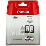 Canon PG-545 + CL-546 - Multipack (Couleur et Noir) pas cher