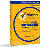 Norton Security Deluxe - Licence 1 an 5 postes pas cher