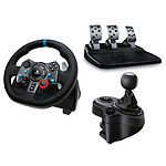 Logitech G29 Driving Force + Driving Force Shifter pas cher