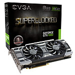 EVGA GeForce GTX 1080 SuperClocked Gaming ACX 3.0 pas cher