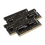 HyperX Impact SO-DIMM 64 Go (4 x 16 Go) DDR4 2133 MHz CL14 pas cher