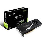 MSI GeForce GTX 1070 AERO 8G OC pas cher